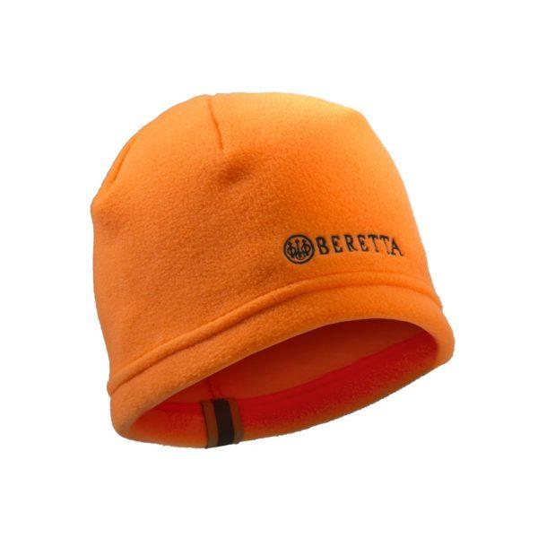 Cuffia in Pile Arancio
