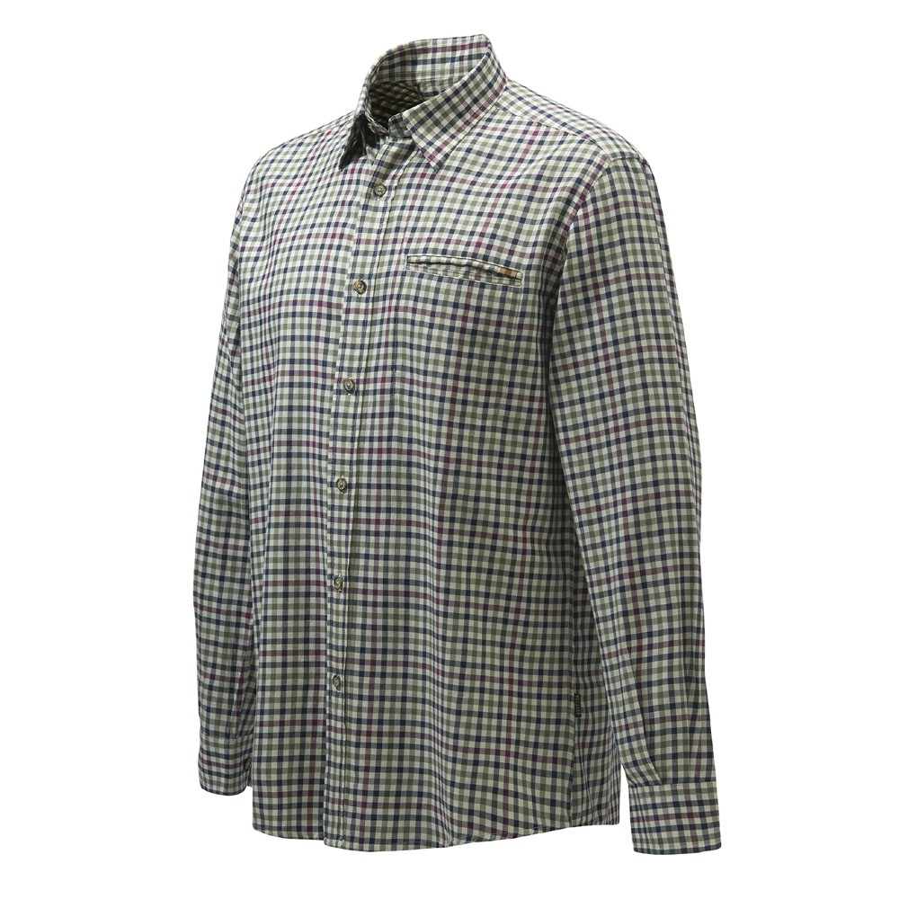 Camicia Wood Plain Collar