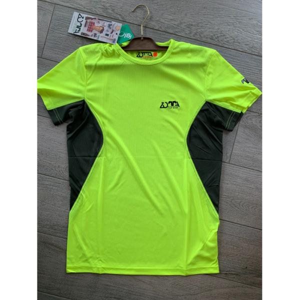 T-Shirt Tecnica Gialla