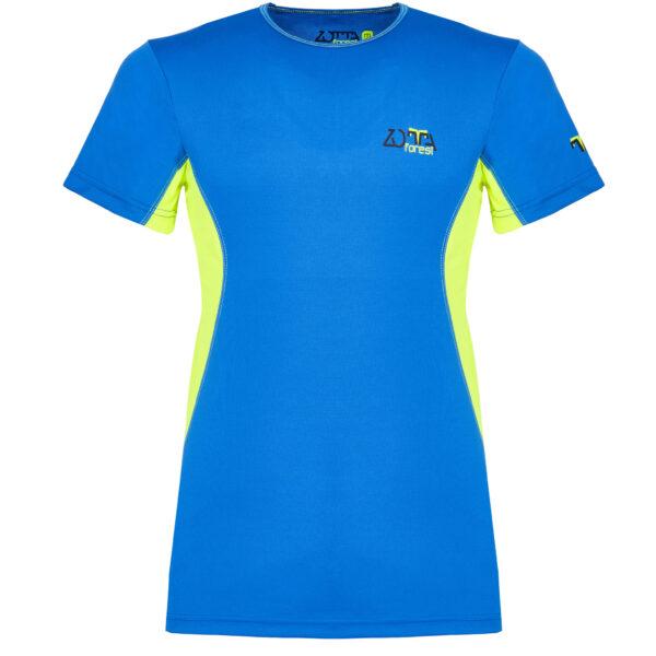 T-Shirt Tecnica Azzurra